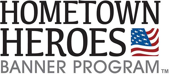 Hometown Heroes Banner Program Logo