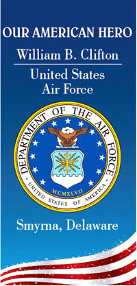 Veteran Banners - United States Air Force