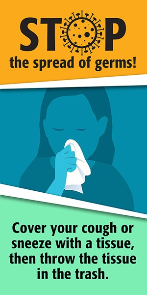 Healthcare Banners - Stop the Spread of Germs