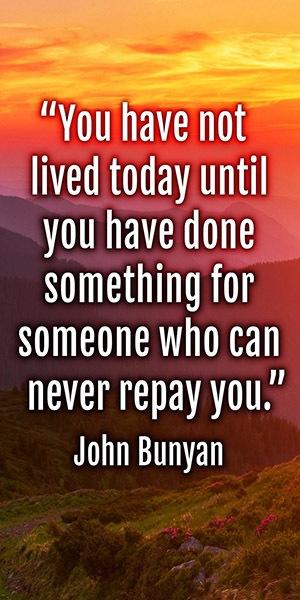 Inspirational Banner - John Bunyan