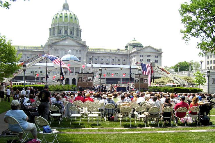 Pennsylvania's Hometown Heroes Harrisburg Banners